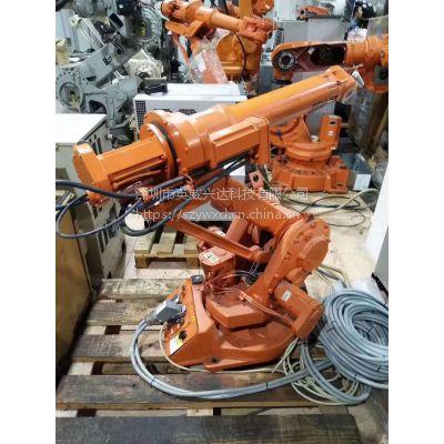 机器人在进行新程序示教并运行时,出现报警MOTN-023在奇异点附近,程序无法运行。
