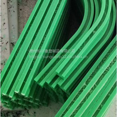 烁兴橡塑生产链条导轨 高分子聚乙烯弯座 尼龙导轨