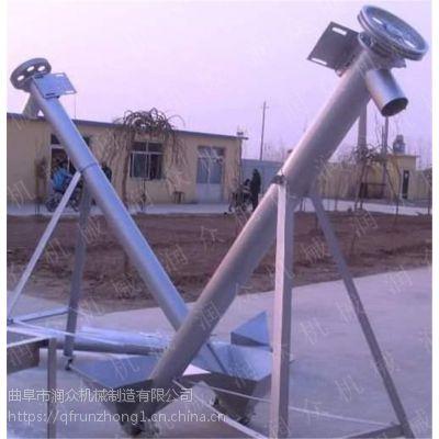 高精度螺旋物料提升机 升降可调螺旋上料机 进料灵活提升机