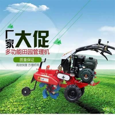 种辣椒起垄培土机 润丰 小型家用种葱田园管理机