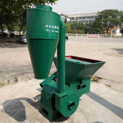 工厂畅销地瓜秧专用打糠机自动进料粉碎机沙克龙草面子机