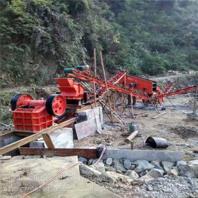 推荐锐泰大型石料破碎生产线 矿山破碎机 石料碎石机 料石生产线全套设备