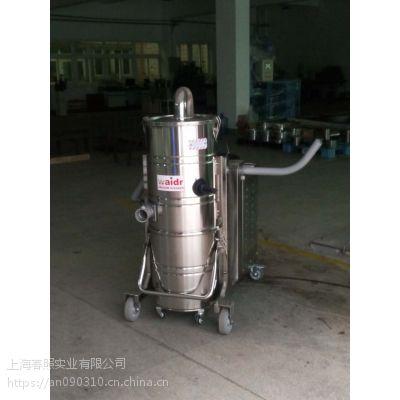 大功率工业吸尘器价格 工厂手推式强力吸尘设备威德尔WX100/75