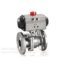 Q641F|气动O型法兰球阀|气动软密封球阀|气动调节球阀|气动切断阀