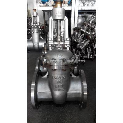 Z41W-100P 不锈钢高压法兰闸阀 Z41W 永嘉巨远阀门厂