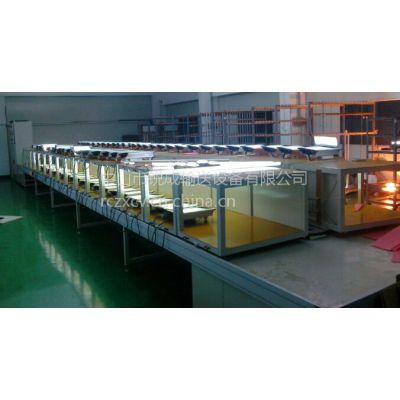 LED模组老化线、天花灯老化线、电磁炉组装老化线、豆浆机装配线、流水线