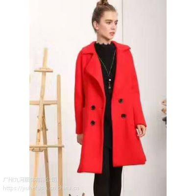品牌折扣女装大码女式羊毛衫羊绒大衣