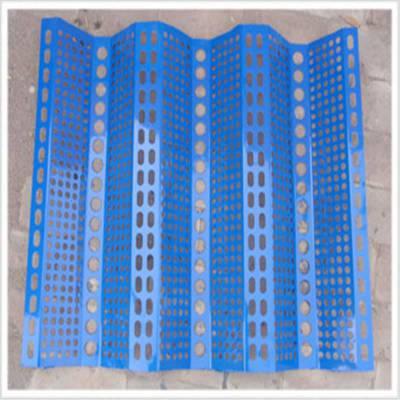 钢性防风网 挡风板厂家 冲孔板防风网