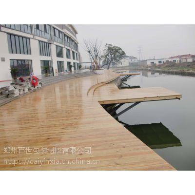 防腐木地板施工实地测量15517173337汝州防腐木商家