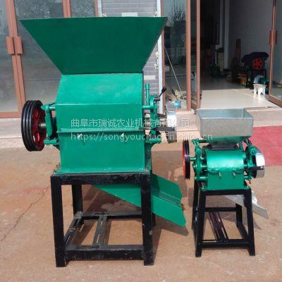 自动上料玉米破碎机 操作方便省事豆扁机 熟花生米破碎机