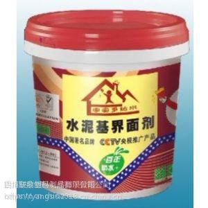 供应四川界面剂,界面剂包装桶,界面剂印刷桶,成都塑特界面剂专用桶,高档界面剂塑料桶