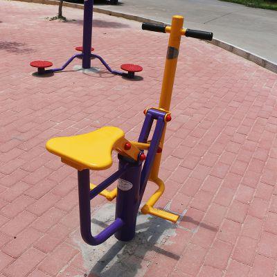 江门中老年人锻炼设备款式 小区健身器材颜色 雅浩114管健身体器材