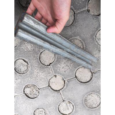 天津Q195 40*60凹槽管 卡玻璃用镀锌凹槽管