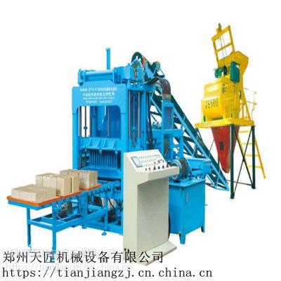 广东天匠高效节能环保砖机 5-15 海绵砌块机