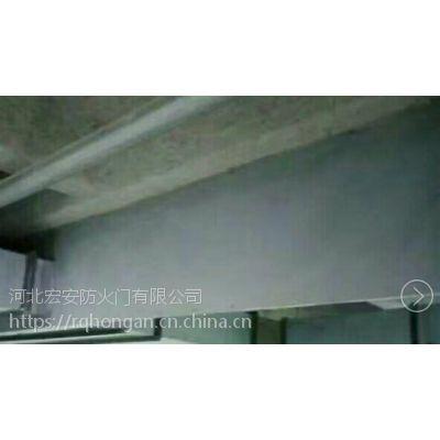 挡烟垂壁生产厂家支持定做玻璃挡烟垂壁 刚性挡烟垂壁600mm