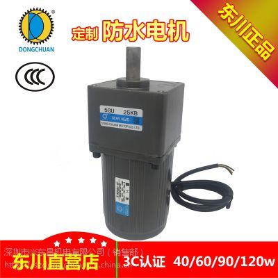 DONGCHUAN防水电机 60W 90W 120W 交流可逆转电机 洗车行专用