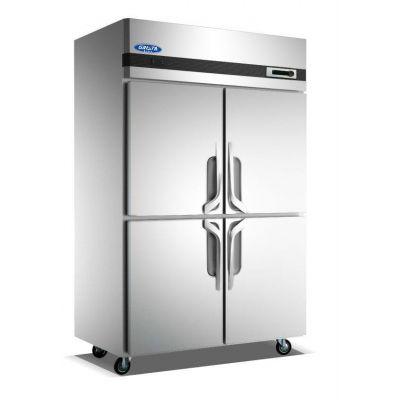 格林斯达四门冰箱Z1.0L4-X 星星四门冷冻冰箱B款 不锈钢四门高身雪柜