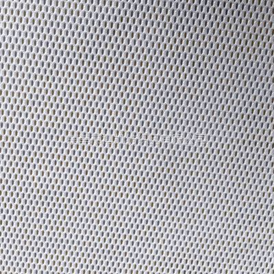厂家批发经编全涤染色网布 弹力针织单层网眼布 运动服婚纱箱包用布