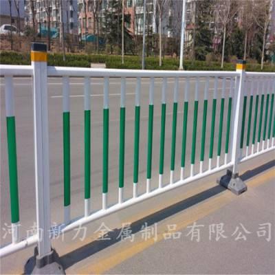 现货可定制 热镀锌钢材围栏护栏 锌钢道路护栏 市政隔离栏 河南新力