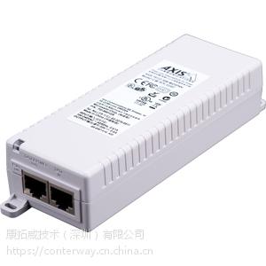 安讯士AXIS T8134 60W室内单口中跨POE供电模块电源