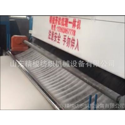 高青县精细梳理机厂家哪里有 吸尘式一次成型弹花机价格