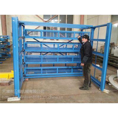 钢板存放占空间杂乱不整齐怎么办?抽屉式钢板货架进的存储形式