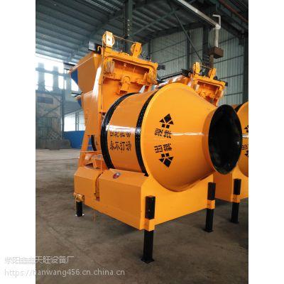 北流天旺400型四轮摩擦传动自动款搅拌机械