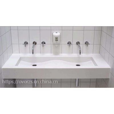 东莞森林简尚人造石石英石工厂供应\人造石洗手池小洗衣槽优质亚克力厨房水槽台面定做厨房卫浴洗手盆