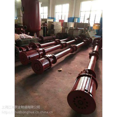 干式电机长轴消火栓泵XBD8.5/30GJ-RJC 消防加压泵 液下4米