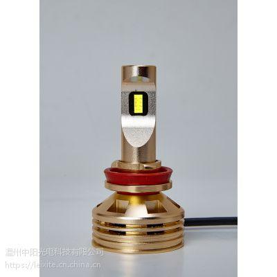 雷西特H11高亮度LED汽车灯泡:高亮、聚光、强散热、节能、无损安装