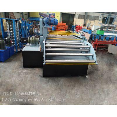 钢板校平机,圆管变方管设备、建筑钢跳板成型机图片产品介绍