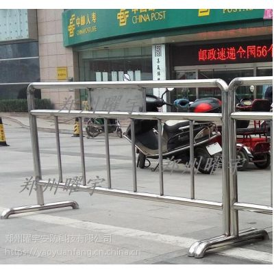 南阳yyaf铁马护栏厂家 不锈钢移动铁马规格图片