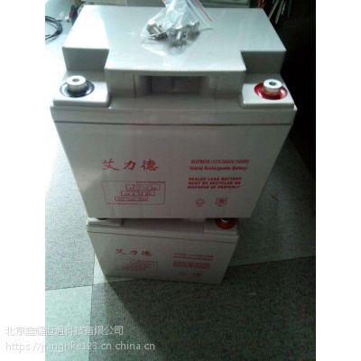 艾力德蓄电池6GFM12-24工业蓄电池官网