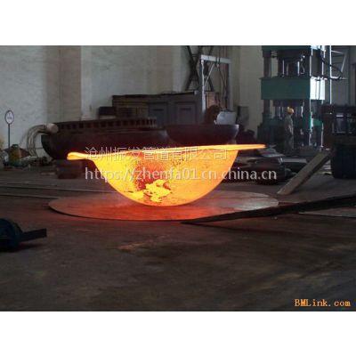 沧州振发供应DN100国标碳钢封头