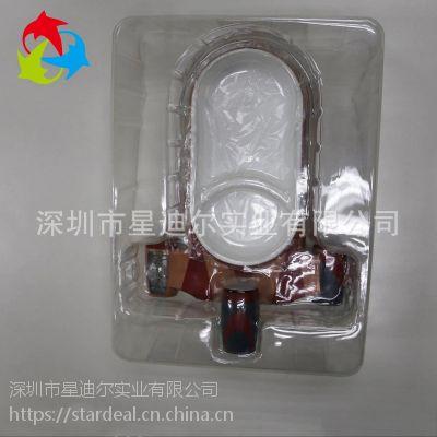 厂家热销透明动漫吸塑包装 定制PET飞机玩具包装盒