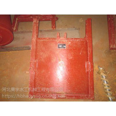 河北昊宇水工HY-PZT铸铁闸门水利工程厂家供应