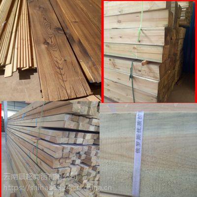 云南昆明防腐木碳化木厂家价格规格哪里便宜厂家