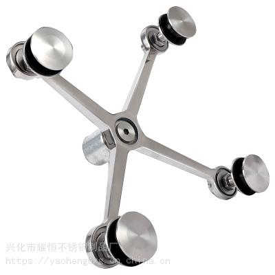 耀恒 不锈钢爪件公司 304不锈钢玻璃爪件 幕墙配件批发
