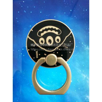 1金属手机支架定制 精美手机扣 锌合金手机指环扣