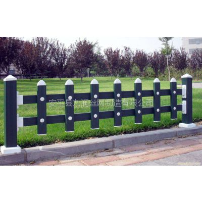 厂家供应PVC草坪围栏塑钢护栏小区绿化围栏