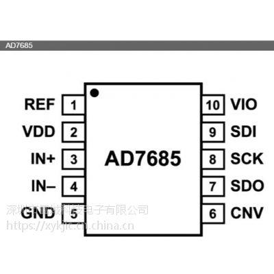 AD7685CRMZRL7【ADI专营】其他IC 16位、250kSPS PulSAR ADC
