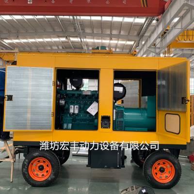 潍柴WP13D405E200柴油机配套320千瓦蓝擎发电机组