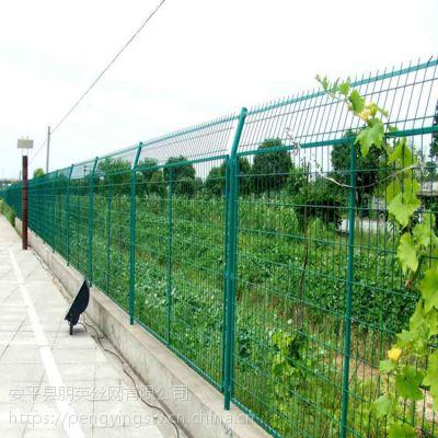 朋英 厂家直销 框架护栏网 框架焊接护栏网 道路铁丝隔离栅