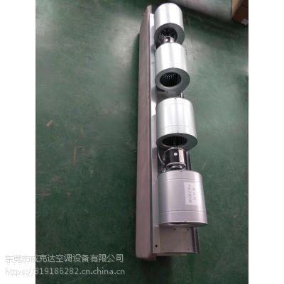 广东14号风机盘管 2电机4风轮卧式暗装风管机 亲水铝箔纯铜盘管机