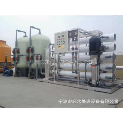 宏旺RO-10000单级反渗透纯水机,医用纯化水,工业清洗纯水制取设备批发