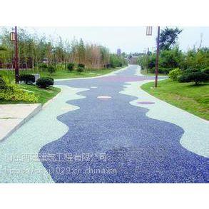 玉溪透水路面-澄江 彩色混凝土