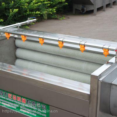 直销玛咖全自动毛辊清洗去皮机 304食品级不锈钢材质匠品制造JP-MG-1800