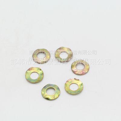 云哲 生产优质 接地垫圈 爪型垫圈 防滑垫片 花色滚花垫圈 可加工定