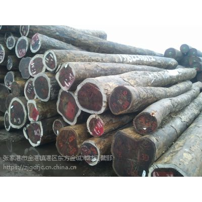 张家港现货供应大叶红檀原木板材