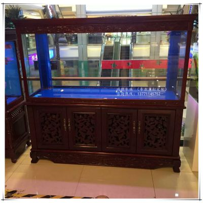 江苏常州玻璃鱼缸定做大型生态亚克力水族箱批发苏州玻璃鱼缸厂家